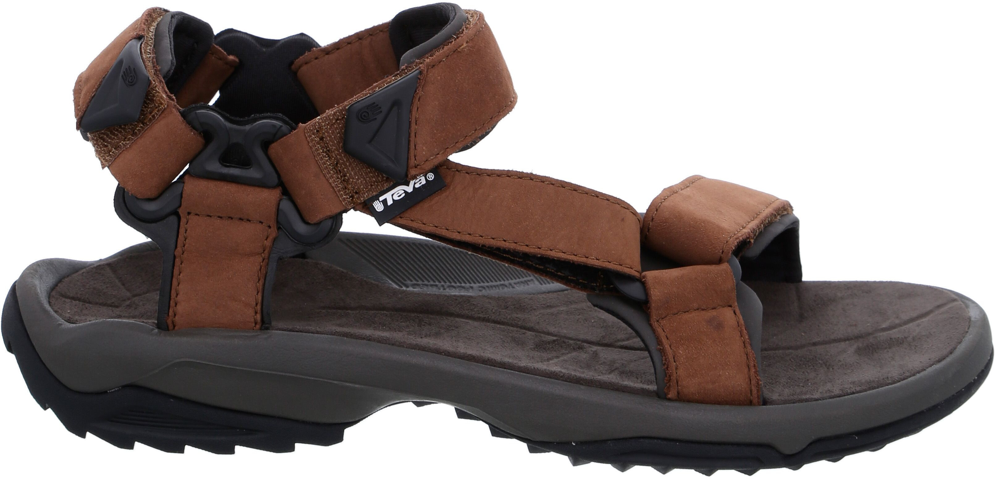 0d34fde803c0b3 Teva Terra FI Lite Leather Sandals Men brown at Addnature.co.uk